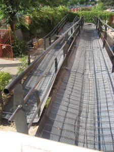 Estructura rampa - Unión Andamios